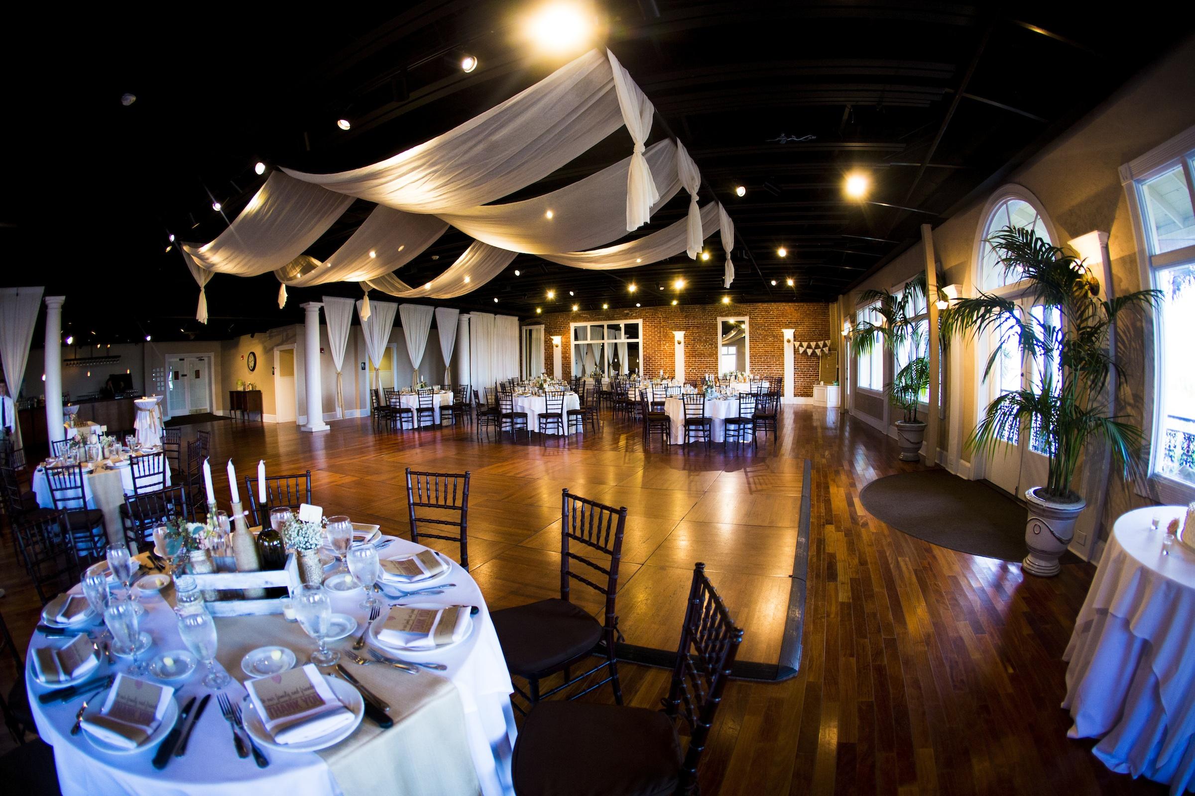 Elegant wedding reception venue St Augustine Florida ...