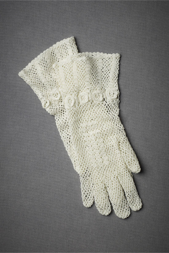 bridal accessories vintage inspired gloves 1