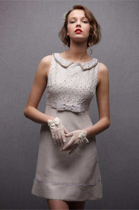 bridal accessories sheer gloves BHLDN