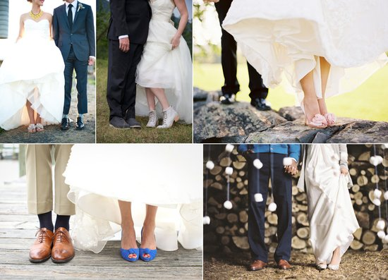 wedding shoe shots photography bride groom