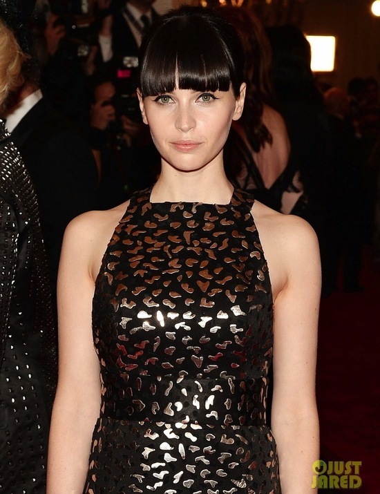 Met Ball 2013 Wedding Makeup Hair Dos Donts Felicity Jones