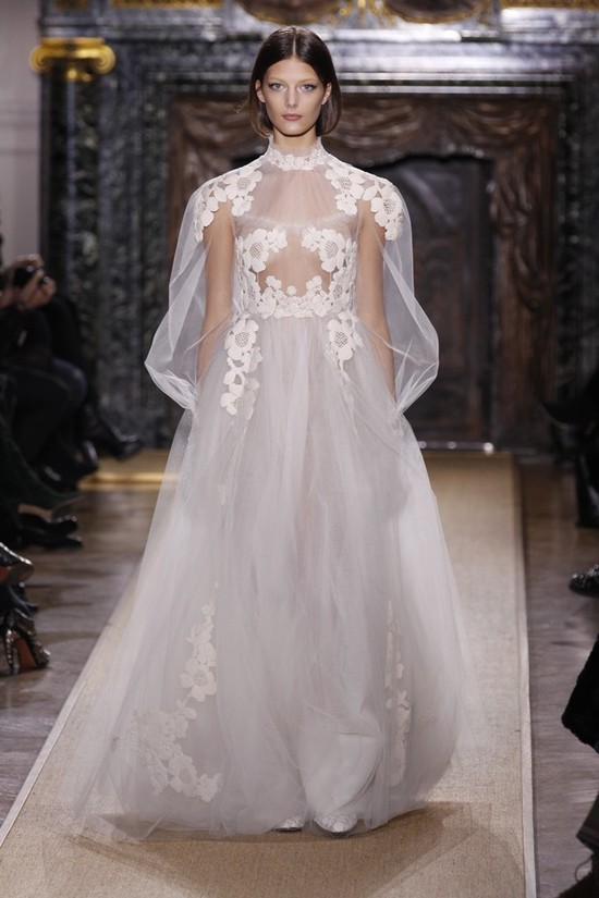 photo of valentino spring 2012 couture wedding dress 7