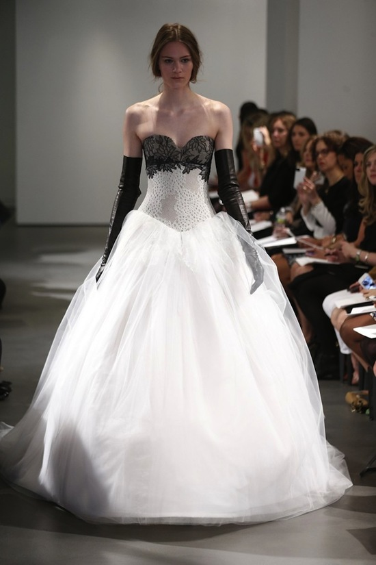 39 vera wang bridal favorites 39 ideabook by onewedstyle on onewed for Vera wang 2014 wedding dress