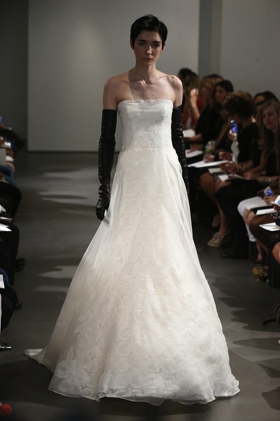Vera Wang Wedding Dress Spring 2014 Bridal 10