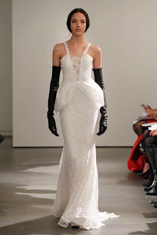 photo of Edgy Sophistication from Vera Wang Spring 2014 Bridal