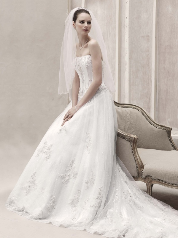 spring 2012 wedding dress oleg cassini bridal gowns cwg406