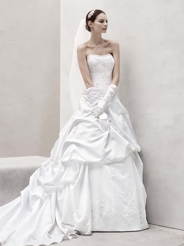 spring 2012 wedding dress oleg cassini bridal gowns ct291