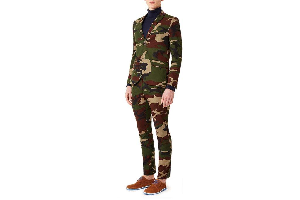 weddings camo suit