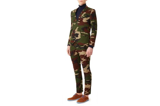 Redneck weddings camo suit