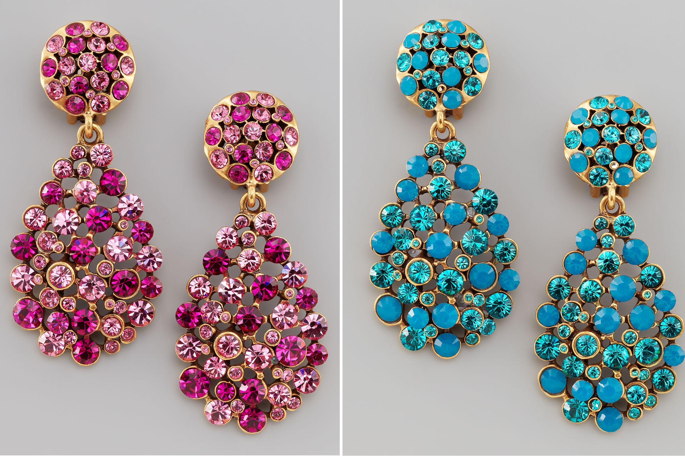 statement wedding jewelry for 2013 brides Oscar de la ...
