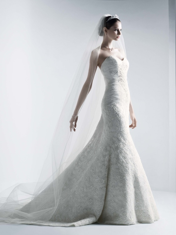 photo of Spring 2012 Wedding Dress Oleg Cassini Bridal Gowns crl277ff-11