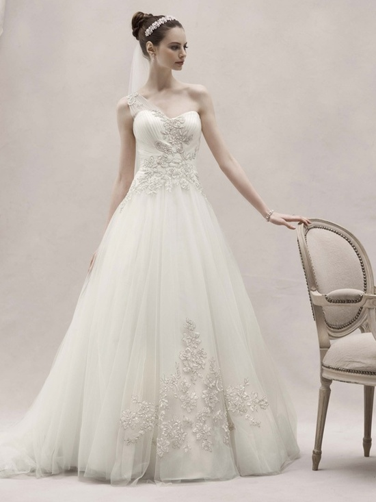 spring 2012 wedding dress oleg cassini bridal gowns ckp421