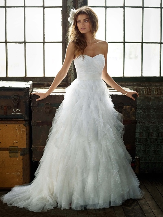spring 2012 wedding dress galina bridal gowns pk3357
