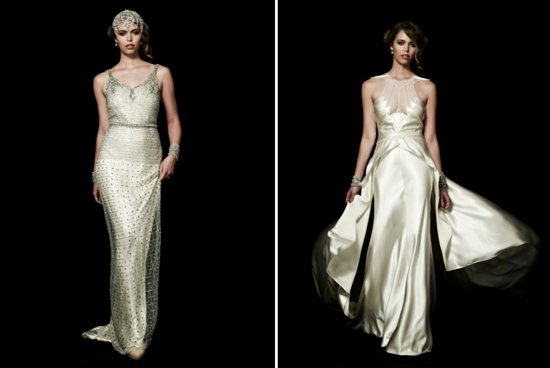 Johanna Johnson wedding gowns Great Gatsby