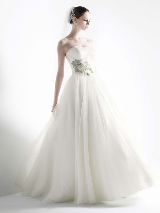 photo of 2012 wedding dress oleg cassini fall 2011 bridal gowns cwg322