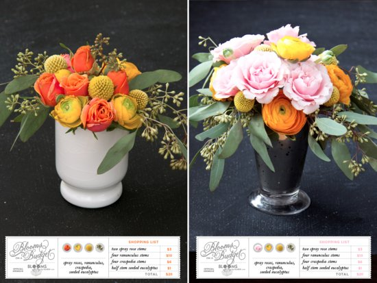 Budget savvy bride Blooms on a Budget