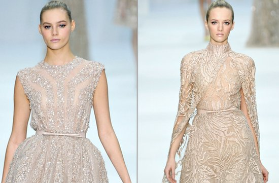 wedding dress neckline inspiration elie saab 2012 couture