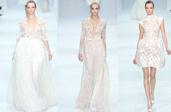 photo of elie saab 2012 couture wedding dresses 1