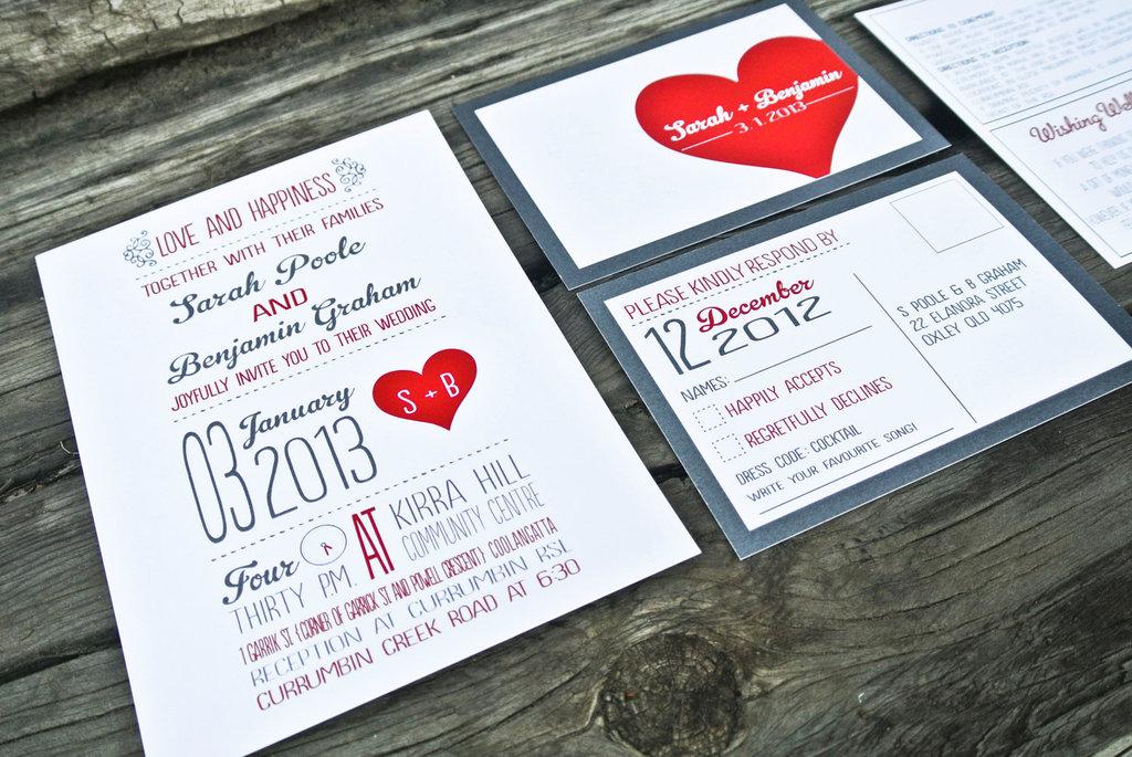 rustic heart wedding invitations, Wedding invitations