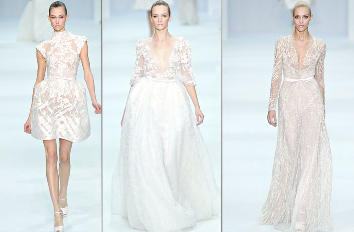 elie saab 2012 couture wedding dress ideas bridal gown trends 4