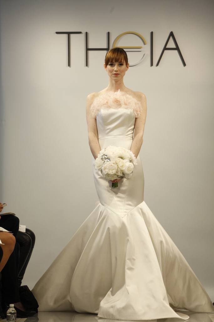 photo of Theia Spring2014 wedding dress bridal gown 0902