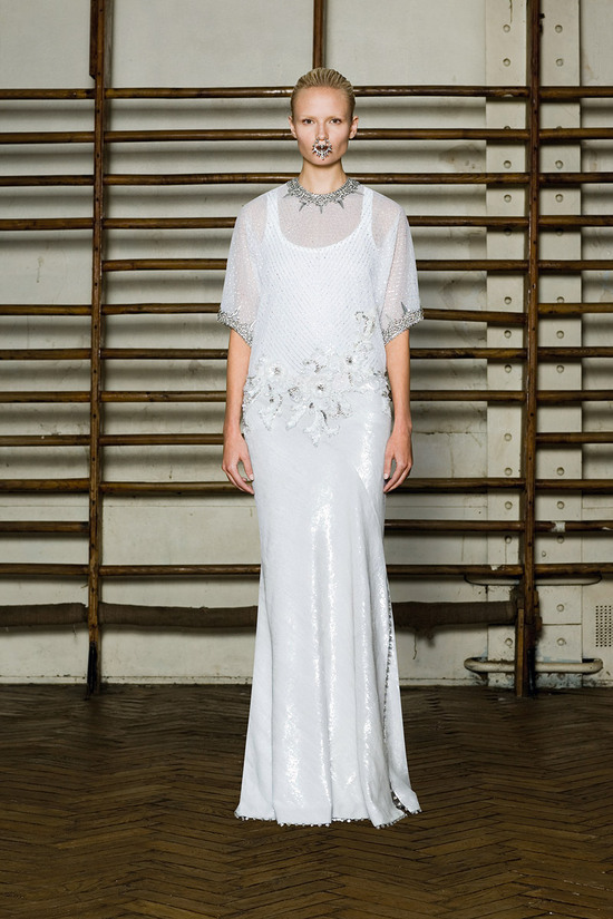 givenchy spring 2012 couture wedding dress inspiration sleeves