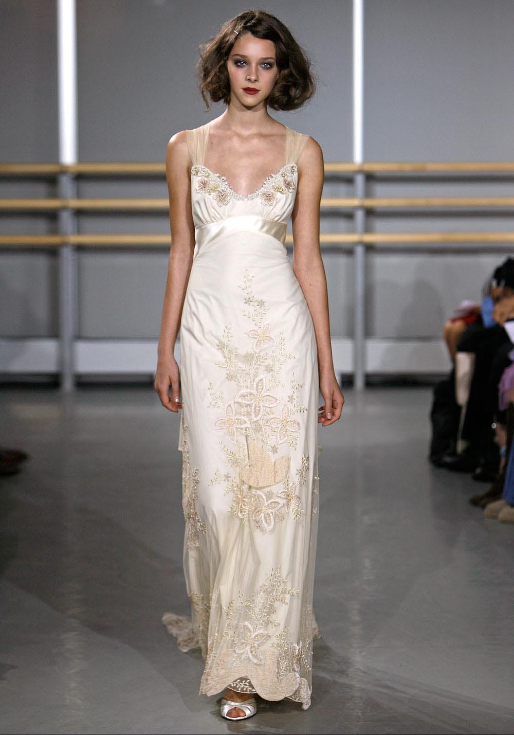 Gatsby inspired wedding style bridal designers claire for Wedding dress claire pettibone