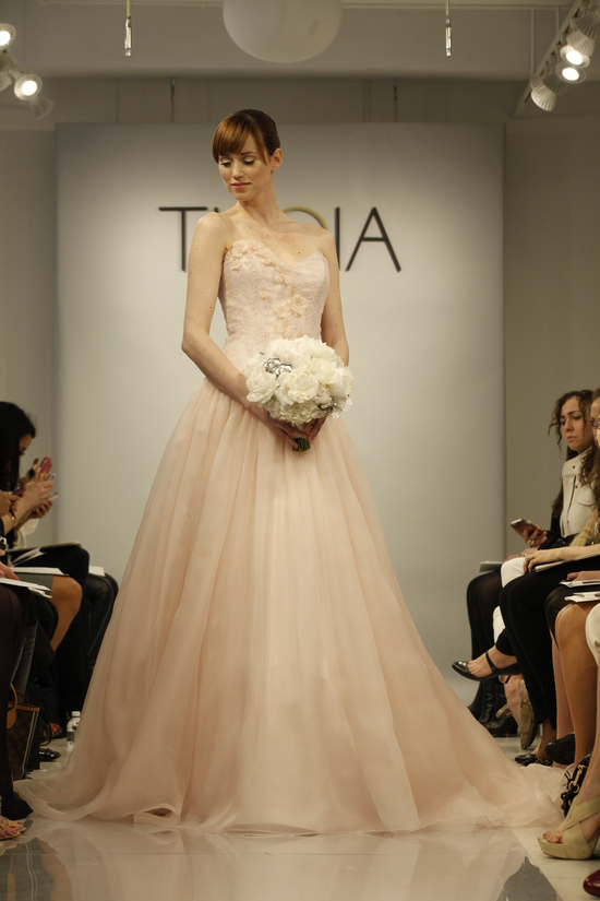 photo of Theia Spring2014 wedding dress bridal gown 027 detail2