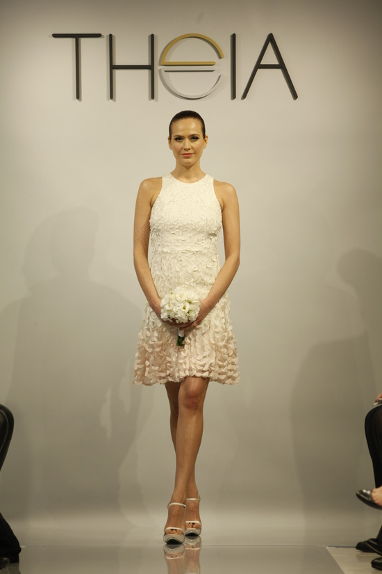 Theia Spring 2014 wedding dress bridal gown Andrea