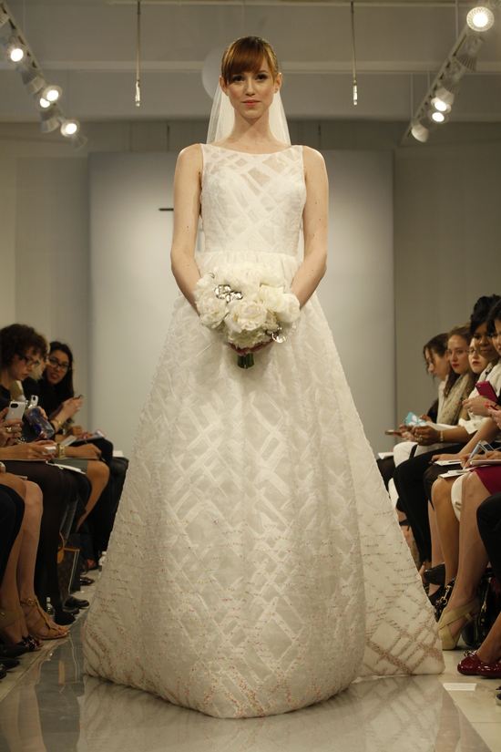 Theia Spring2014 wedding dress bridal gown Bella