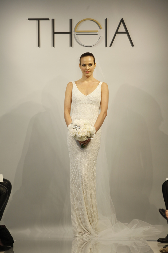 Theia Spring 2014 wedding dress bridal gown Caitlin