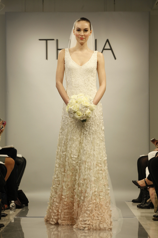 Theia Spring2014 wedding dress bridal gown Emma