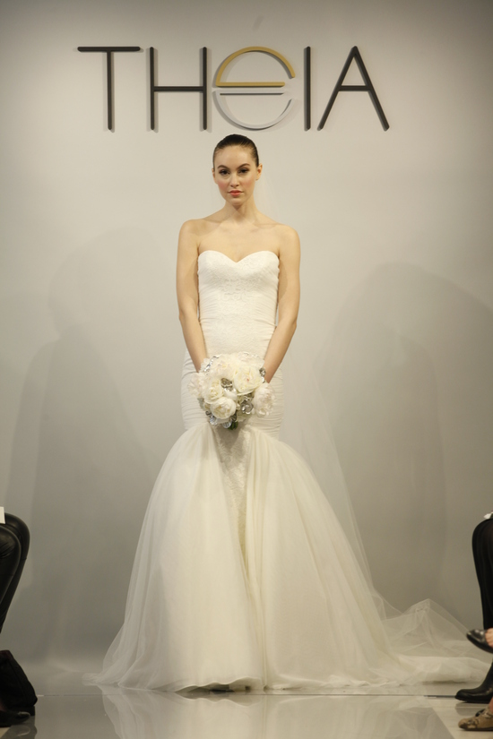 Theia Spring 2014 wedding dress bridal gown Faith