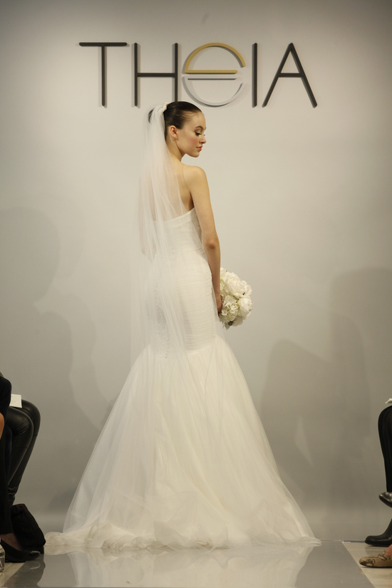 Theia Spring2014 wedding dress bridal gown Faith