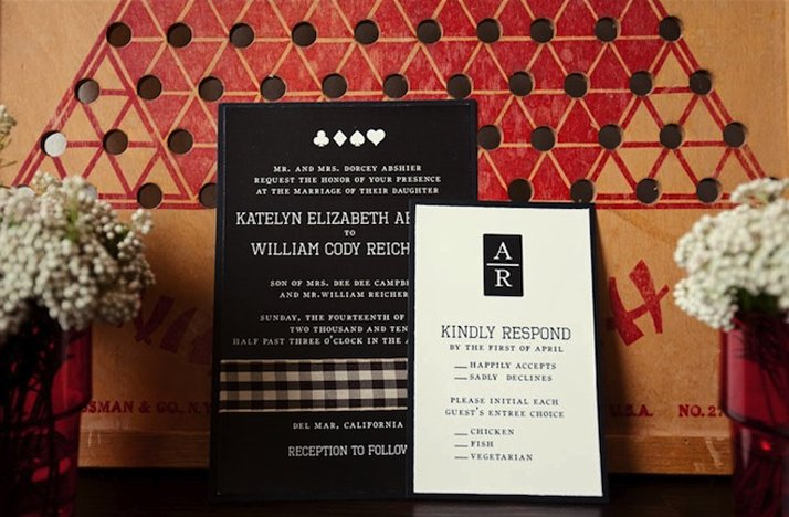 White And Red Wedding Invitations: Black White Red Wedding Invitations Board Game Themed