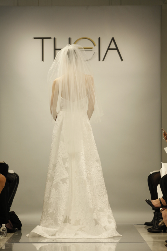 Theia Spring2014 wedding dress bridal gown Grace