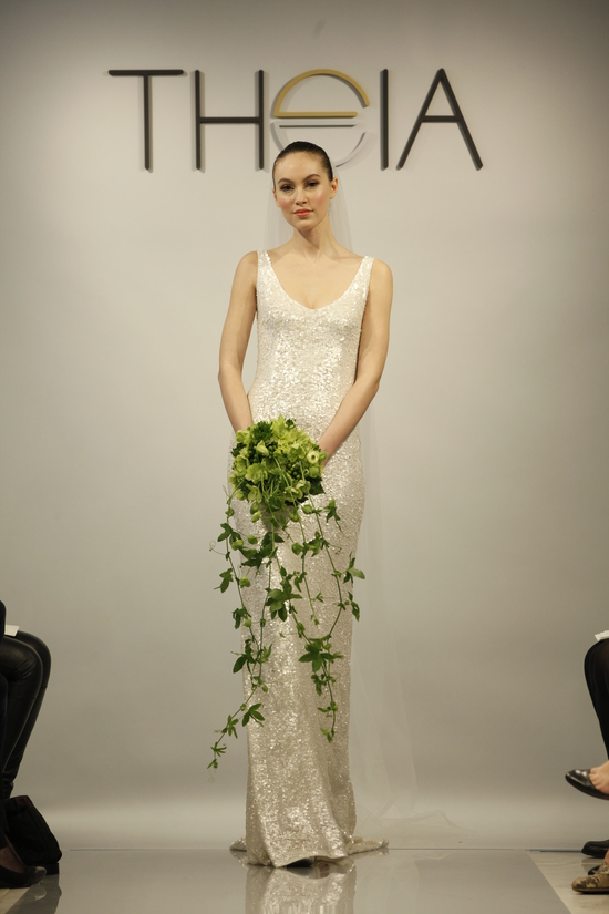 Theia Spring2014 wedding dress bridal gown Harlow