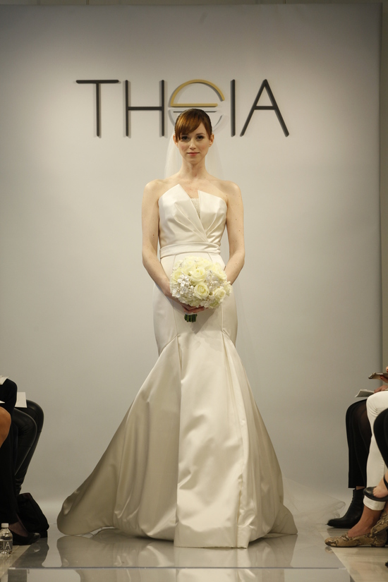 Theia Spring2014 wedding dress bridal gown Madison