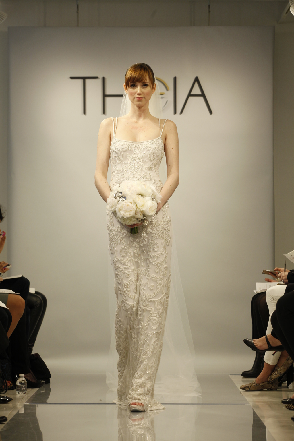 Theia Spring2014 wedding dress bridal gown Nicole