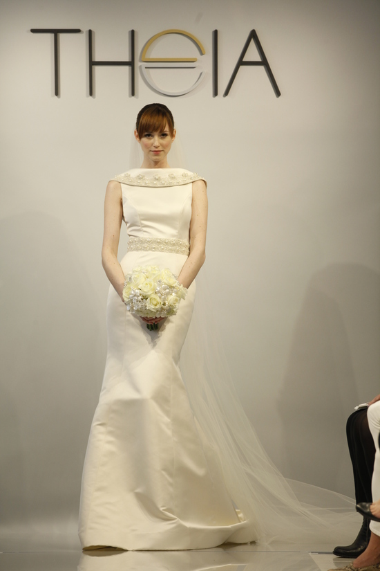 Theia Spring2014 wedding dress bridal gown Victoria