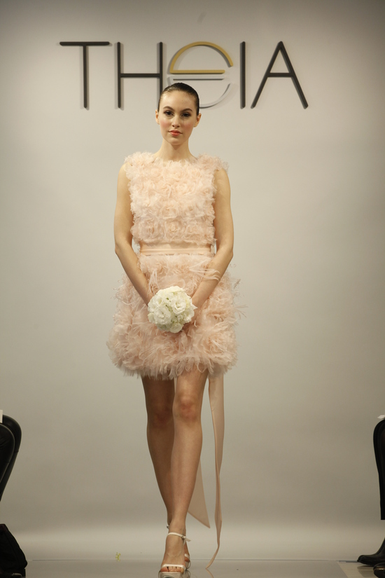 Theia Spring2014 wedding dress bridal gown Viola