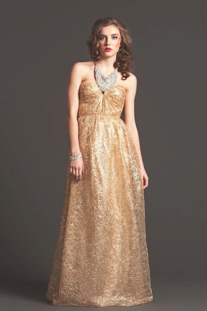 Gold-sparkle-empire-wedding-guest-dress.full