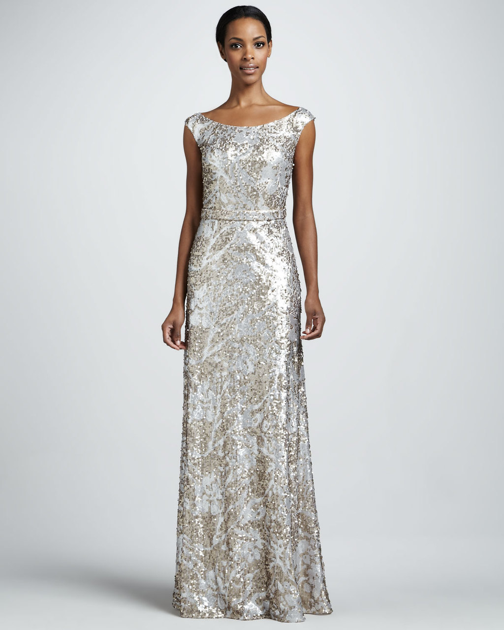 Champagne sequin long wedding guest dress silver champagne sequin long wedding guest dress ombrellifo Gallery