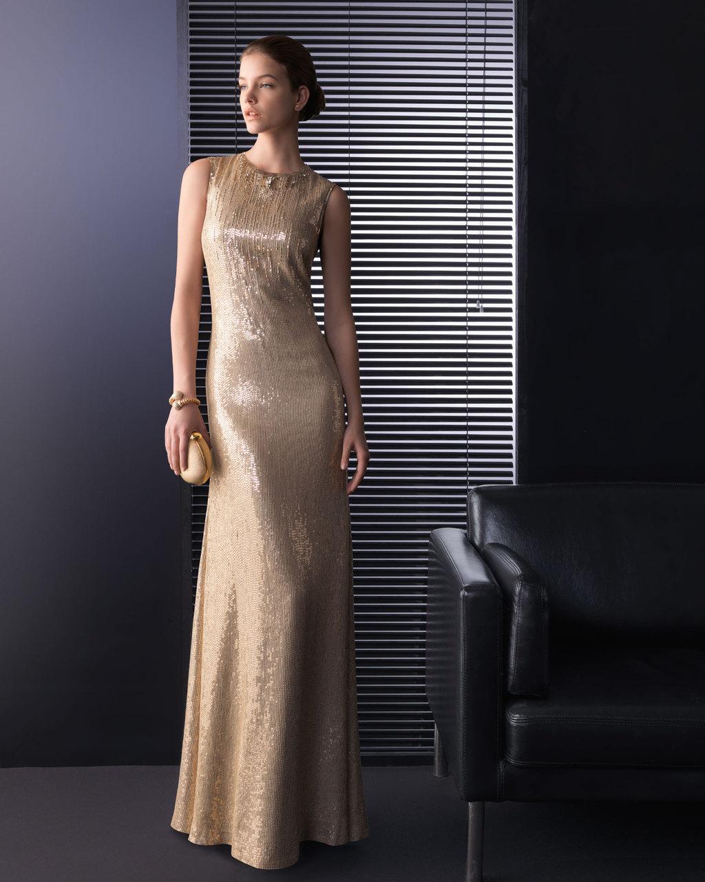Gold Wedding Guest Dresses