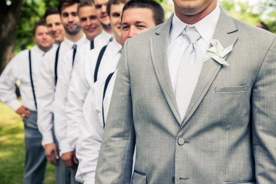 Shades of Gray for Grooms