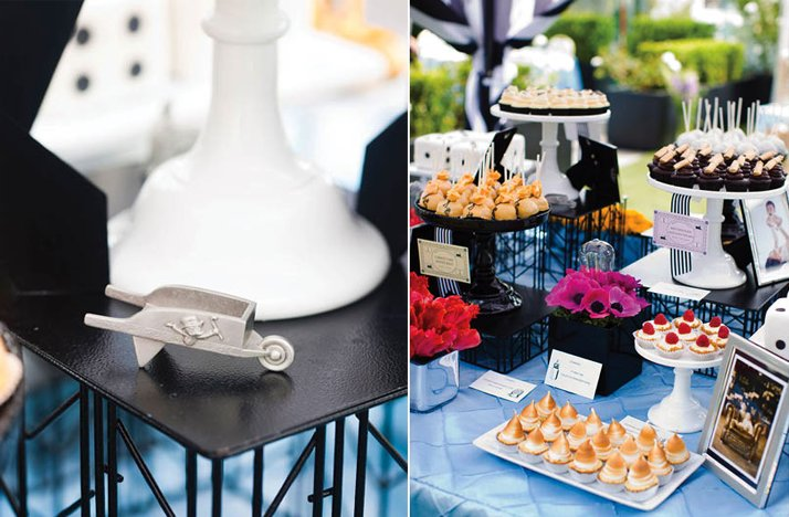 themed wedding ideas monopoly reception decor
