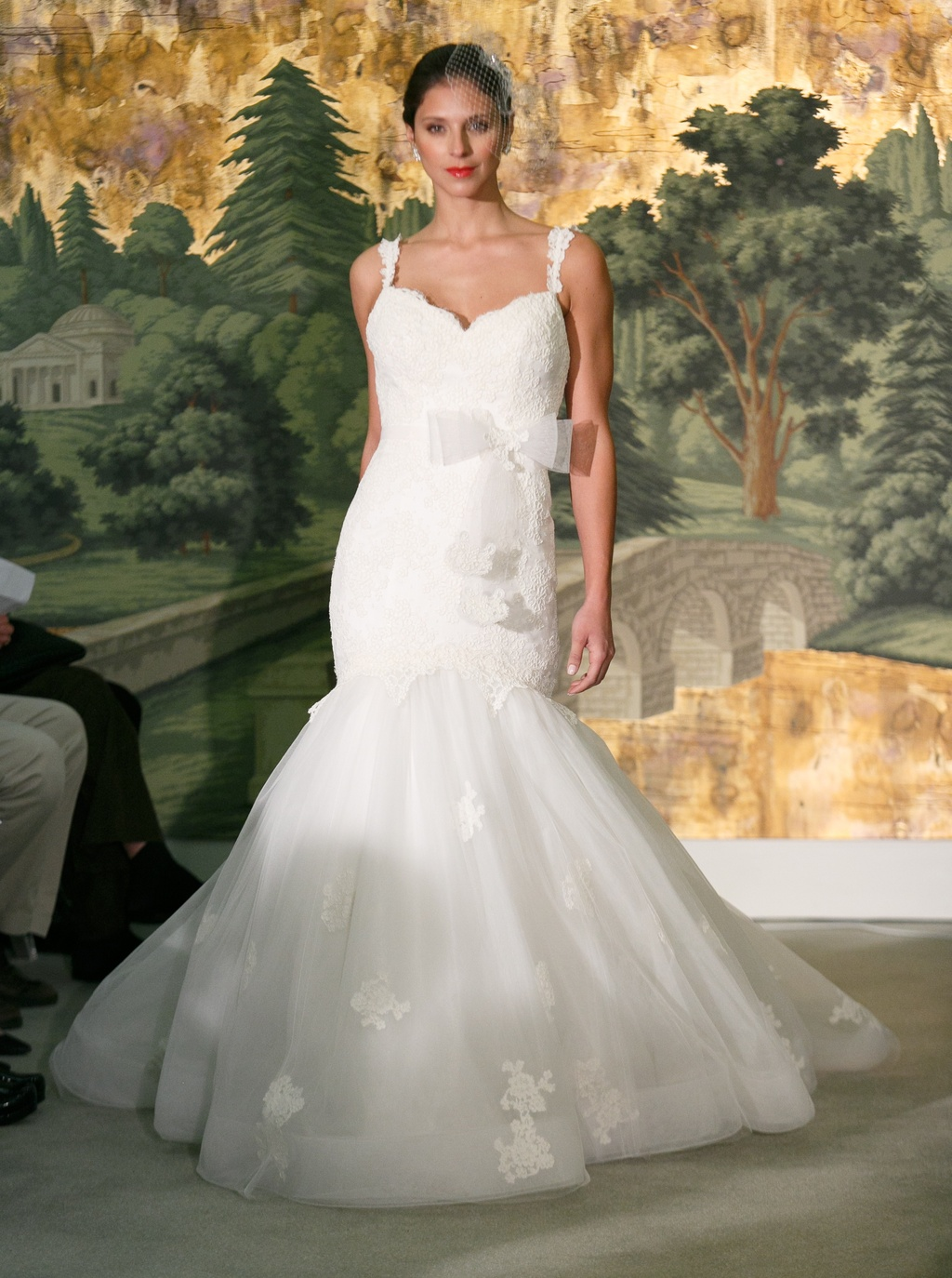 Wedding dress by Anne Barge Spring 2014 Bridal Astere