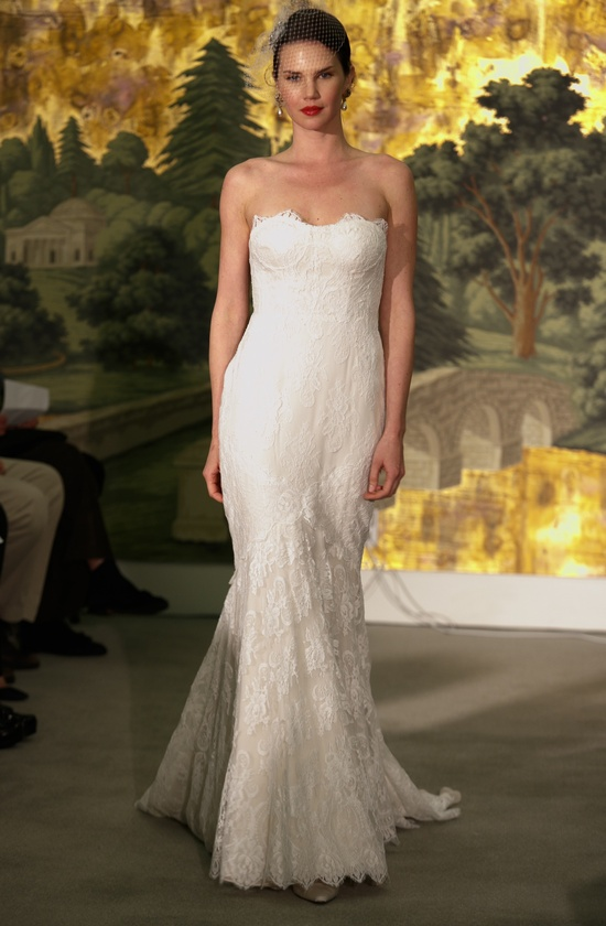 Wedding dress by Anne Barge Spring 2014 Bridal Bouquet