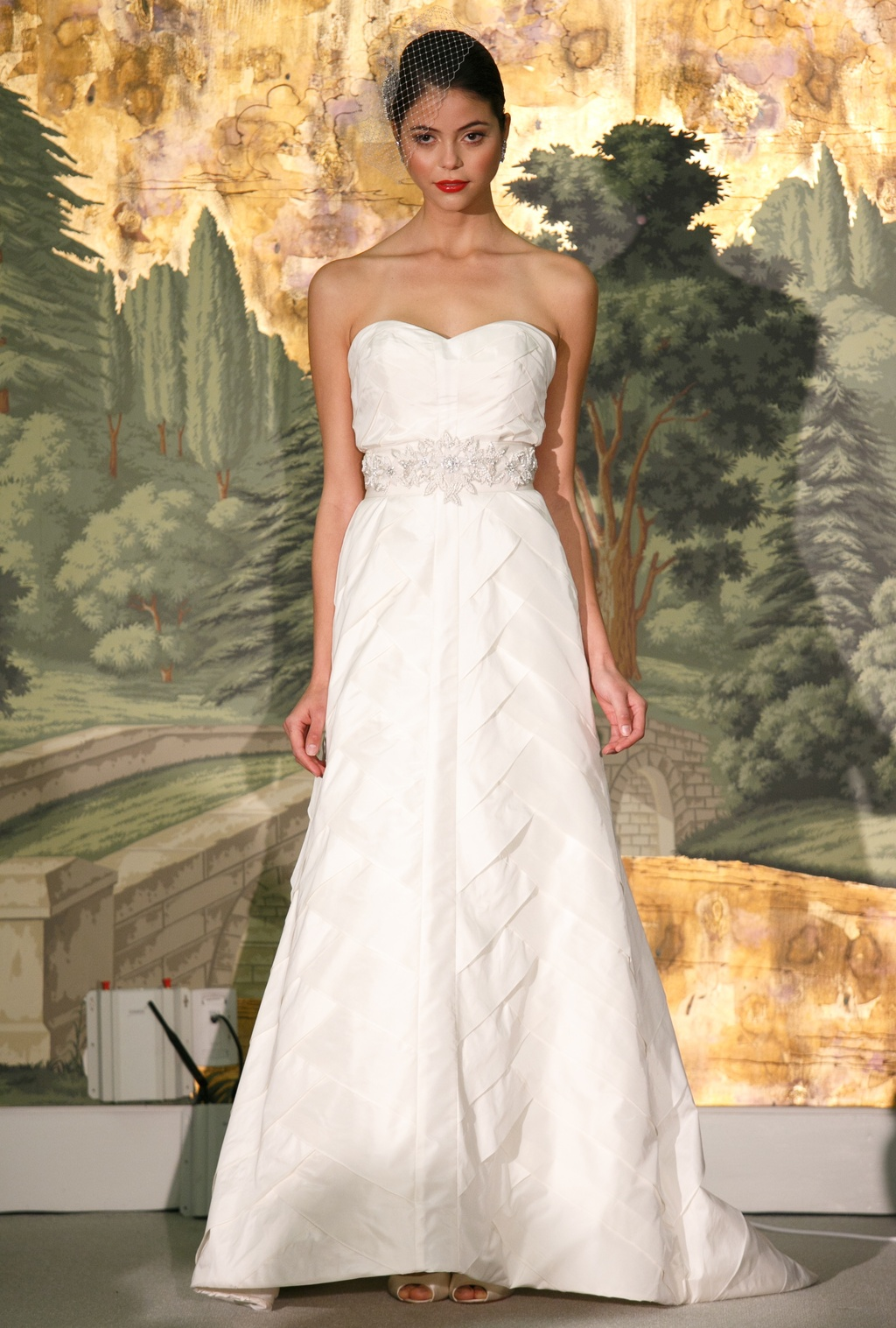 Wedding dress by Anne Barge Spring 2014 Bridal Grenadier