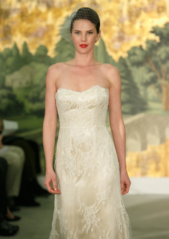 Wedding dress by Anne Barge Spring 2014 Bridal Narcisse